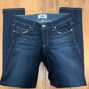 Paige denim Kylie Crop skinny jeans